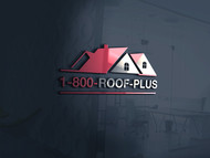 1-800-Roof-Plus Logo - Entry #86