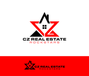 CZ Real Estate Rockstars Logo - Entry #140