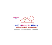 1-800-Roof-Plus Logo - Entry #118