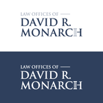 Law Offices of David R. Monarch Logo - Entry #262