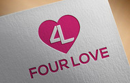 Four love Logo - Entry #38