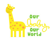 Logo for our Baby product store - Our Baby Our World - Entry #57