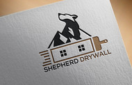 Shepherd Drywall Logo - Entry #148