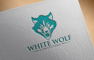 White Wolf Consulting (optional LLC) Logo - Entry #135
