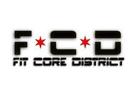 FitCore District Logo - Entry #136