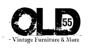 """""""OLD 55"""" - mid-century vintage furniture and wares store Logo - Entry #95"""