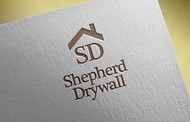 Shepherd Drywall Logo - Entry #189