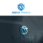 Debtly Travels  Logo - Entry #97