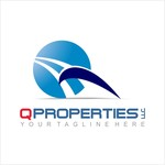 A log for Q Properties LLC. Logo - Entry #24