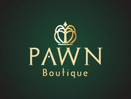Either Midtown Pawn Boutique or just Pawn Boutique Logo - Entry #88