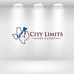 City Limits Vet Clinic Logo - Entry #106