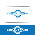 LEGACY GARAGE Logo - Entry #12