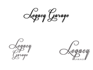 LEGACY GARAGE Logo - Entry #143