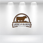 American Diamond Cattle Ranchers Logo - Entry #114