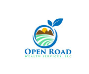 "Open Road Wealth Services, LLC  (The ""LLC"" can be dropped for design purposes.) Logo - Entry #53"