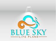 Blue Sky Life Plans Logo - Entry #48