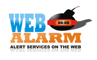 Logo for WebAlarms - Alert services on the web - Entry #69