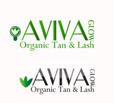 AVIVA Glow - Organic Spray Tan & Lash Logo - Entry #9