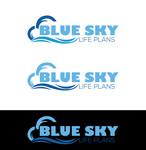 Blue Sky Life Plans Logo - Entry #349