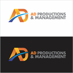 Corporate Logo Design 'AD Productions & Management' - Entry #144