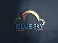 Blue Sky Life Plans Logo - Entry #424