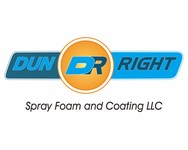 Dun Right Spray Foam and Coating LLC Logo - Entry #96