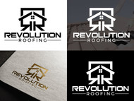 Revolution Roofing Logo - Entry #117