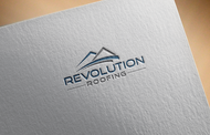 Revolution Roofing Logo - Entry #459