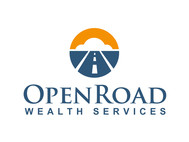 "Open Road Wealth Services, LLC  (The ""LLC"" can be dropped for design purposes.) Logo - Entry #12"