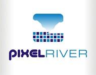 Pixel River Logo - Online Marketing Agency - Entry #179