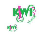 Kiwi Threads Logo - Entry #31