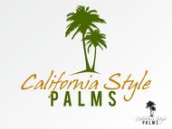California Style Palms Logo - Entry #48