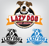 Lazy Dog Beer Shoppe Logo - Entry #12