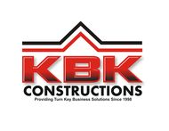 KBK constructions Logo - Entry #98
