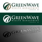 Green Wave Wealth Management Logo - Entry #320