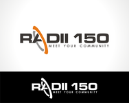 Radii 150 Logo - Entry #76