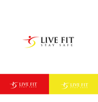 Live Fit Stay Safe Logo - Entry #278