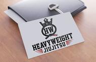 Heavyweight Jiujitsu Logo - Entry #201