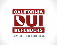 California DUI Defenders Logo - Entry #43