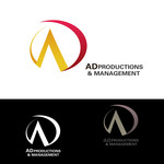 Corporate Logo Design 'AD Productions & Management' - Entry #117