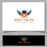 When Pigs Fly Photography Logo - Entry #52