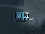 ETM Advertising Specialties Logo - Entry #137