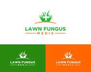 Lawn Fungus Medic Logo - Entry #201