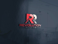 Revolution Roofing Logo - Entry #566