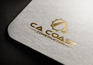 CA Coast Construction Logo - Entry #163