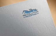 Revolution Roofing Logo - Entry #61