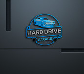 Hard drive garage Logo - Entry #23