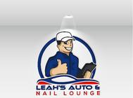 Leah's auto & nail lounge Logo - Entry #138