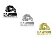 Dawson Transportation LLC. Logo - Entry #4
