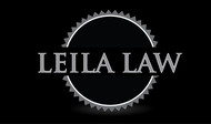 Leila Law Logo - Entry #20
